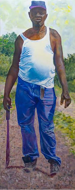 Hesitation, a painting by Barbara Masterson