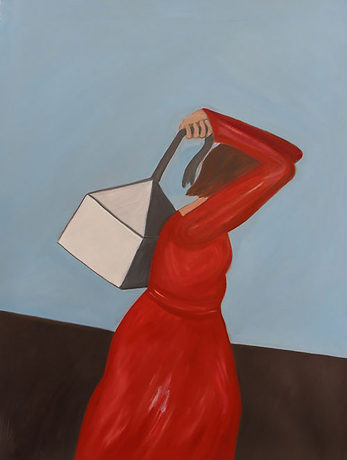 The Long Haul, a painting by Theresa DeSalvio