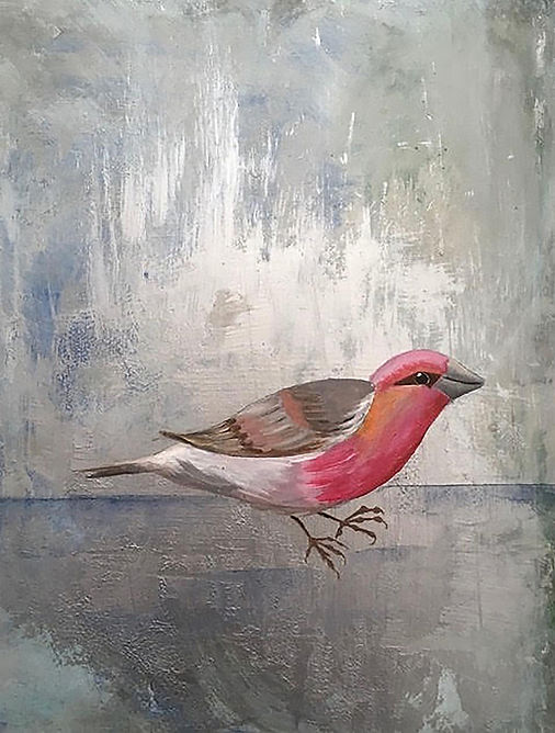 Rose Finch by Stacey G. Schuman
