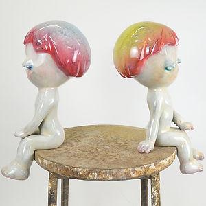Twins by Sachiko Miki  三木 サチコ