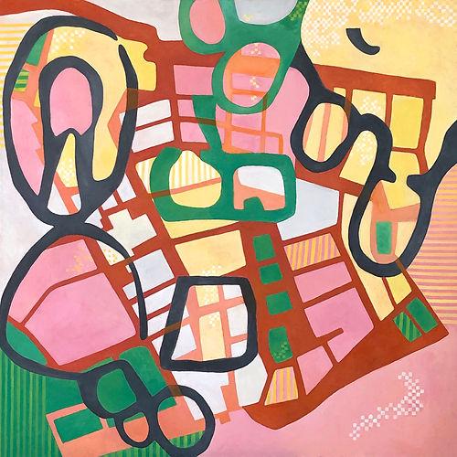 Running Free, a painting by Maria Morabito