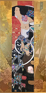 Klimt's Judith ll Muse by Lynette Charters
