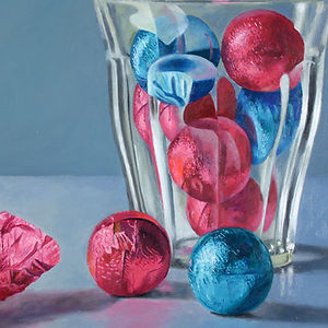 Candies and Glass, a painting by Douglas Newton