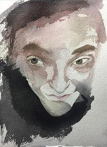self portrait by Barbara Herzfeld
