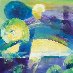 Swirling Strokes by Khadija Zizi