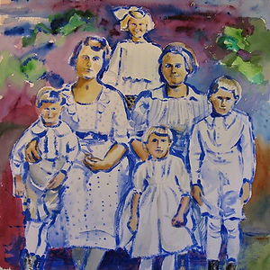 Sunday Best, a painting by Susan Hennelly