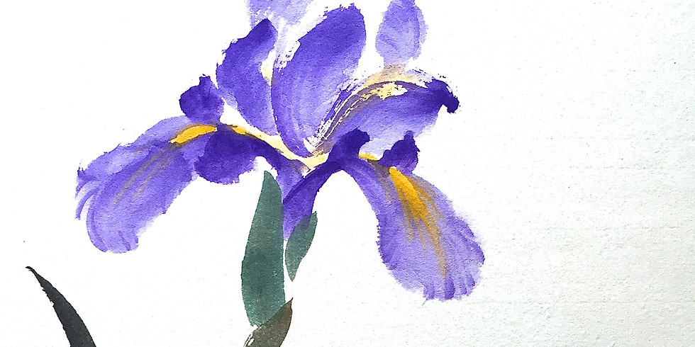 2:00 - 4:00 PM   May Zoom Brush Painting Workshop
