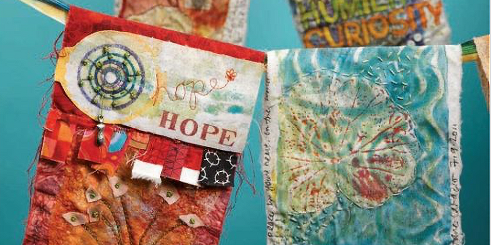 2:00-3:30 PM Online | Intention Flags: Modern Day Prayer Flags