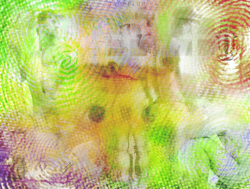 Untitled, a digital collage by Kenneth Sean Golden