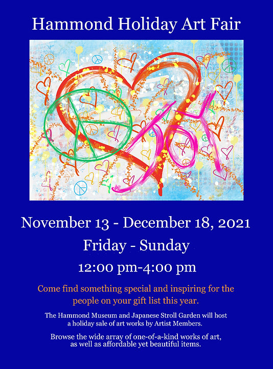 Hammond Holiday Art Fair Flyer