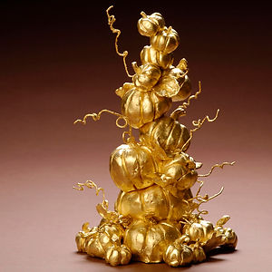 #9: Abundant Harvest, a sculpture by Lisa Breznak