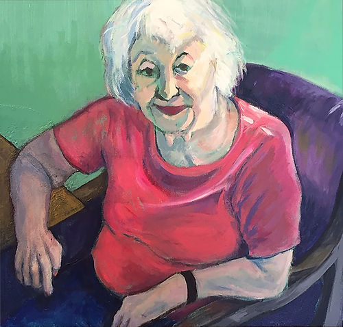 #12, Mom, a painting by Connie Freid