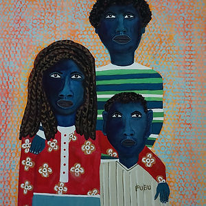 Somebody Bigger, a painting by Patricia Stuart