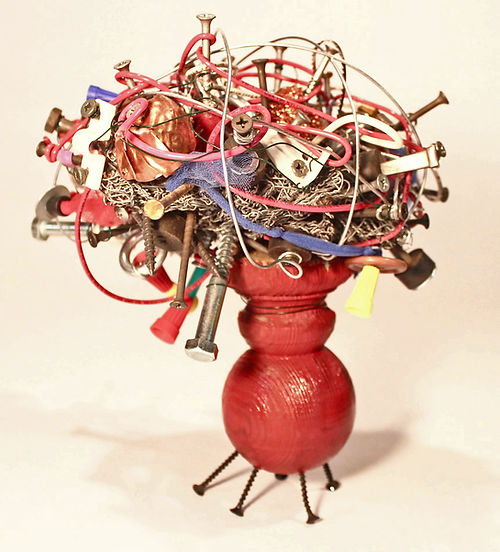 Entropy, a sculpture by Larry Dell