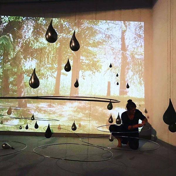 installation Tokyo Japan 2017 Emptiness is fullness - floating infinity