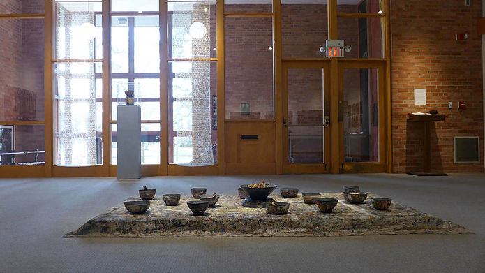 Offerings to Nature, an installation by Ilse Schreiber-Noll
