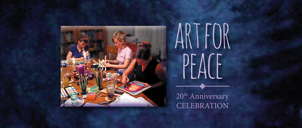Art for Peace Event cover 20th anniversary