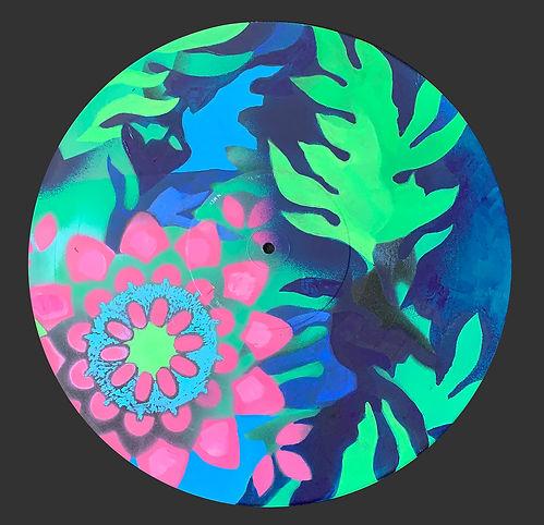Corona Virus Series 18 Spring is Eternal, a painting by Christina Saj