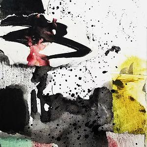 Script, a collage by Leslie Hardie