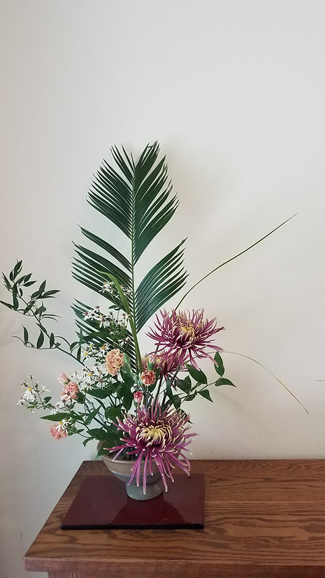 Mazezashi flower arrangement