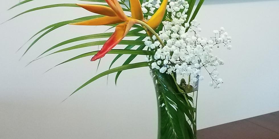 10:00-11:30 AM Live | Ikebana Class with Shoko Iwata