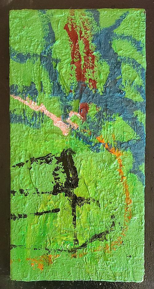 Dance of the Shinings, a painting by Osiris Munir