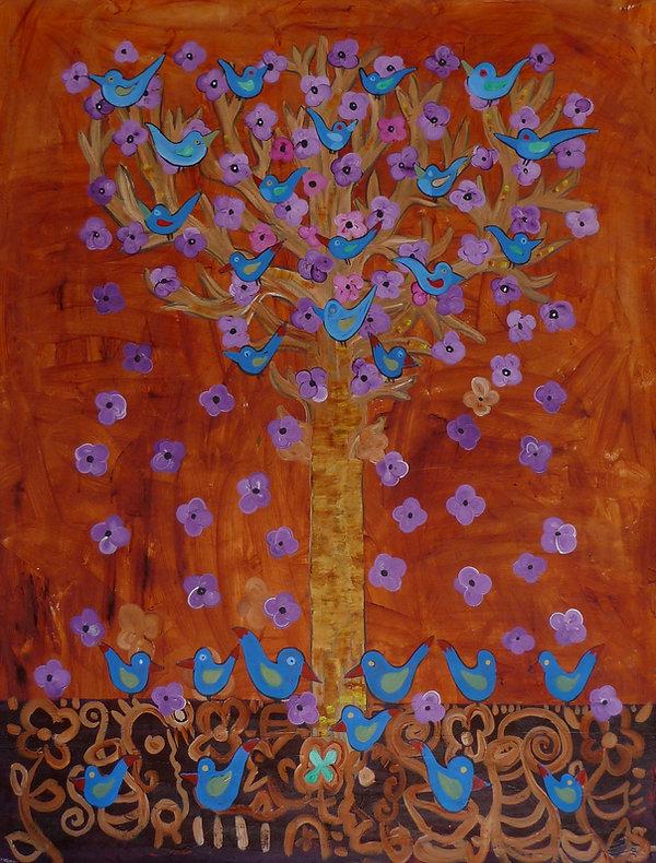 Rust Tree of Life by Gert Mathiesen