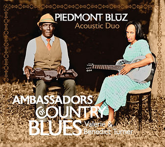 Cover art for Piedmont Blūz CD Ambassadors of Country Blues