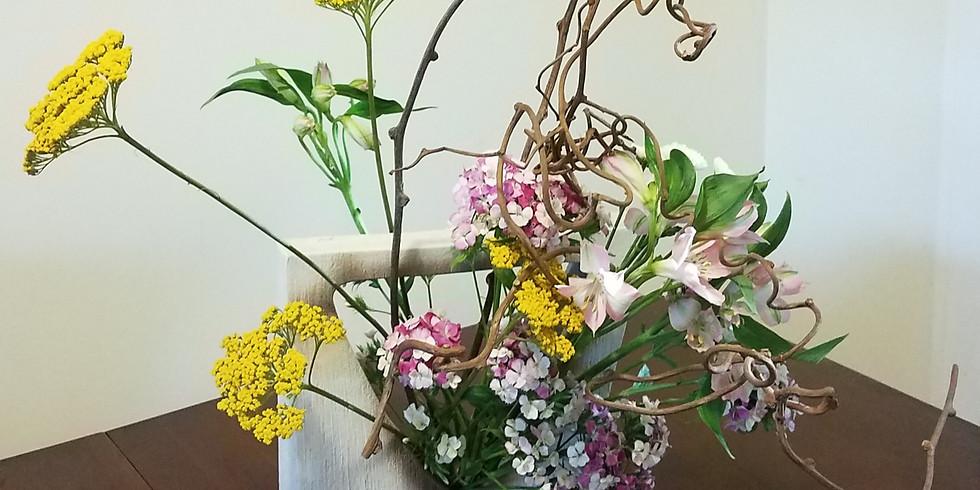 10:00-11:30 AM Live Event   Ikebana Workshop with Shoko Iwata