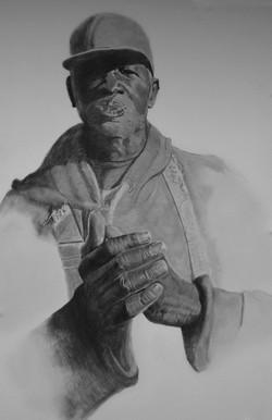 Botti, a drawing by Barbara Masterson
