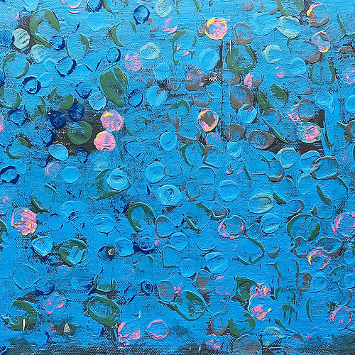 #12 Dot 10, a painting by Shira Toren