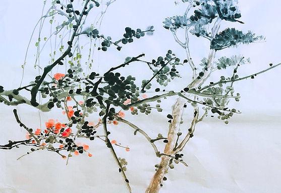Sungsook Hong Setton, Chinese brush pain