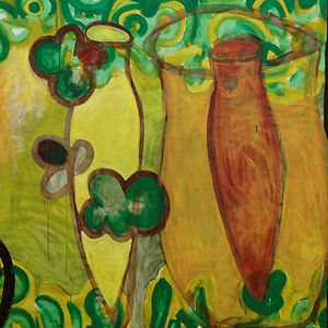 Vessels, a painting by Pam Smilow