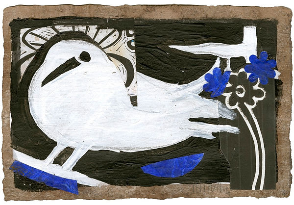 Dove by Gert Mathiesen