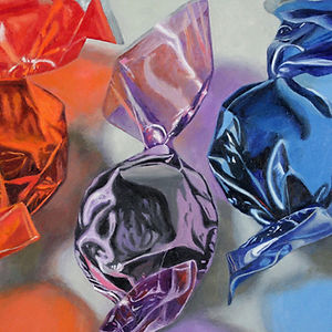Red Violet Blue, a painting by Douglas Newton