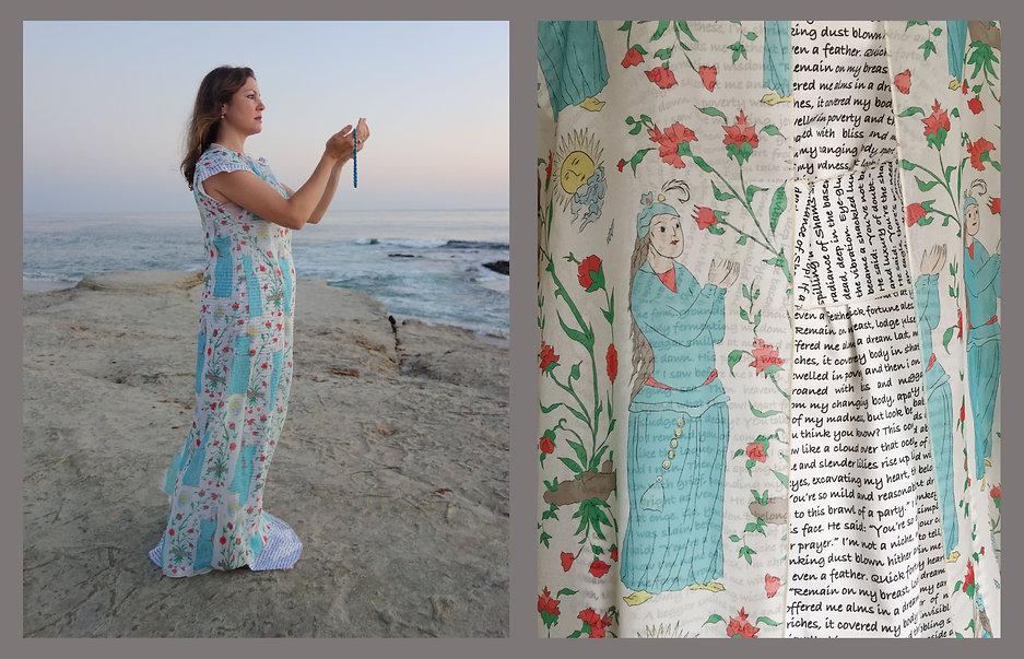 Talismanic Gown, a dress by Nazanin H
