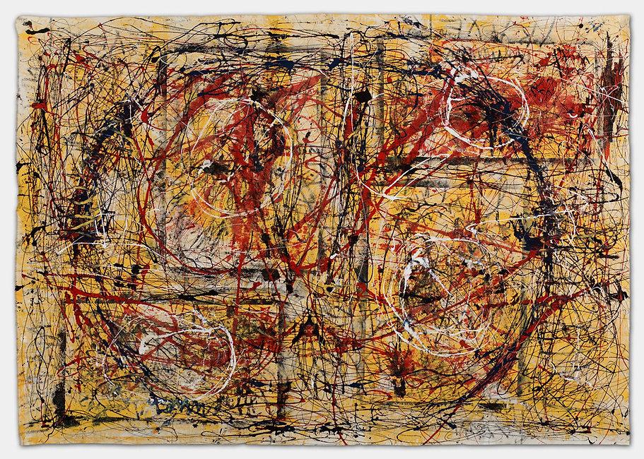 Brennende Welt, a painting by Ilse Schreiber-Noll