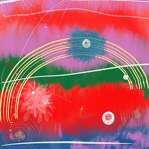 December muse painting by Bibiana Huang Matheis 黄家璧