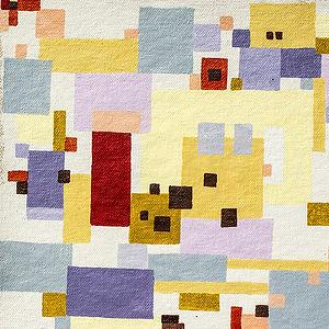 November Muse Palette, a painting by Monique Allain