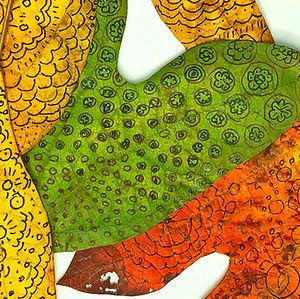 Sassafras Drawing 3 by Mimi Czajka Graminski