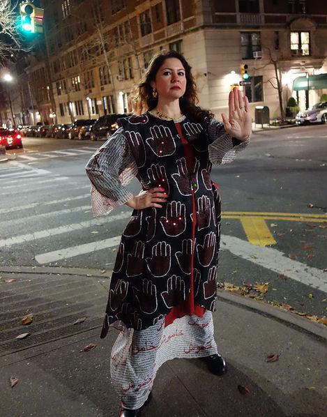 Talismanic Kaftan, a dress by Nazani