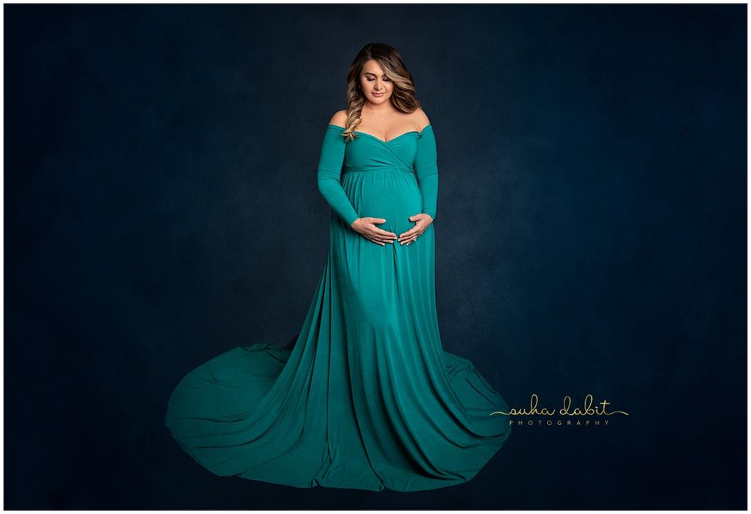 Studio Maternity Session