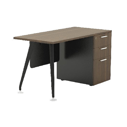Straight Desk ABBIE Form7 Series 7DR-1260