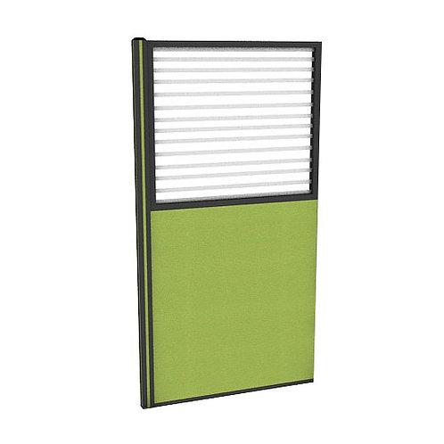 ครึ่งกระจกขัดลายแบบมีเฟรมไม่มีกล่องไฟ (H180) PC1840