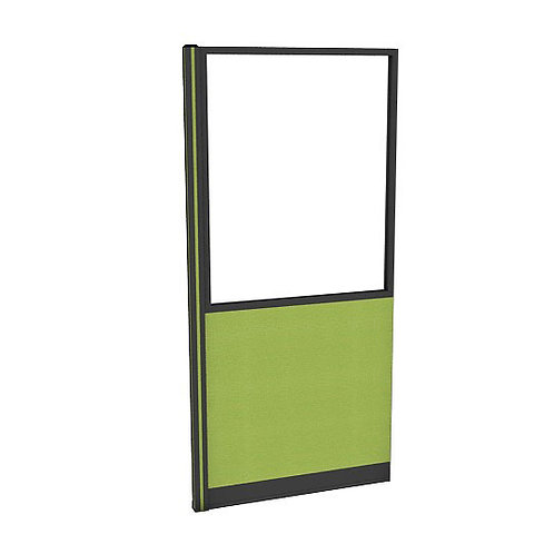 ครึ่งกระจกใสแบบมีเฟรมกล่องไฟล่าง (H200) PGF2040