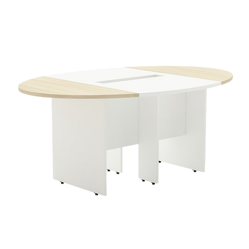 CONFERENCE TABLE (WITH MODESTY) FORM 1 Deep 1200 mm. Series ACF3-XX12