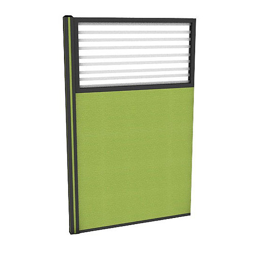 ครึ่งกระจกขัดลายแบบมีเฟรมไม่มีกล่องไฟ (H150) PC1540