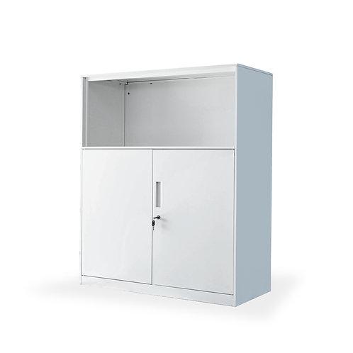 ตู้เหล็กเตี้ยโล่งบานเปิดล่าง ต่อด้านล่าง  ZDOD-1090