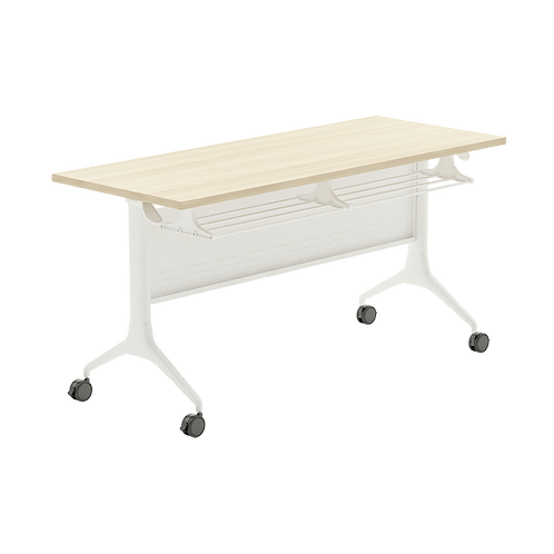 WAVE Folding Table (With Caster-Modesty-Bracket Series 6FP-1X6PD)