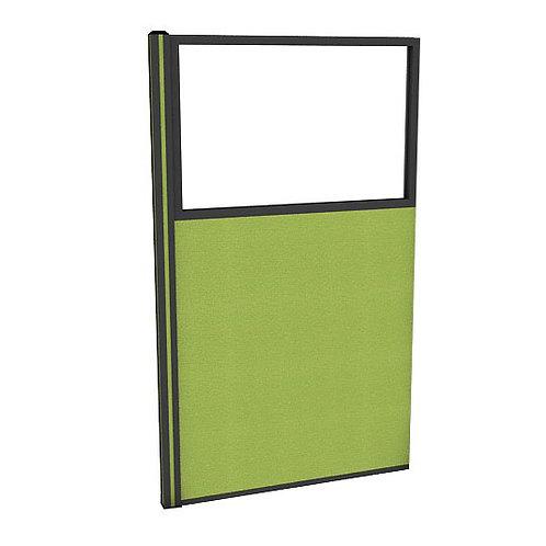 ครึ่งกระจกใสแบบมีเฟรมไม่มีกล่องไฟ (H160) PG1640